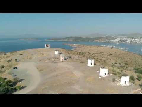 Turuncu Kanat - Bodrum Drone - Arsa Konut Drone Çekimi