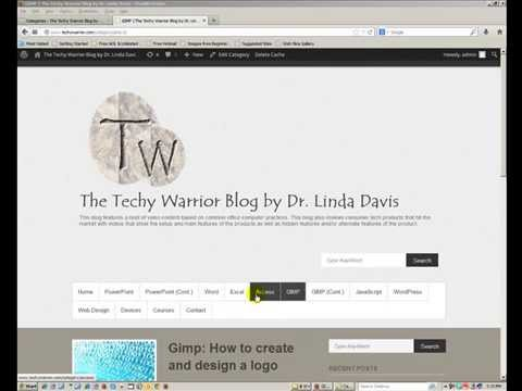 WordPress: How to add a category and make it a menu tab