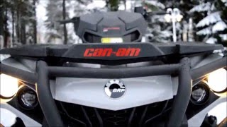 getlinkyoutube.com-2016 Can am Outlander 570 pro review