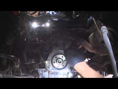 VW A4: 1.9L ALH TDI Rear crank seal replacement