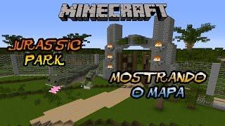 getlinkyoutube.com-Minecraft Mostrando Mapas - Jurassic Park!