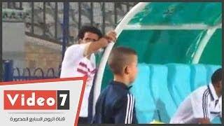 getlinkyoutube.com-بالفيديو .. شاهد بكاء لاعبي الزمالك عقب ضياع ركلة الجزاء