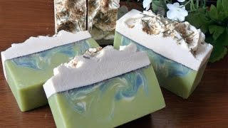 getlinkyoutube.com-Making Herbal Lemon Soap