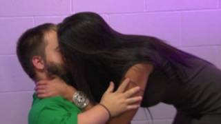 getlinkyoutube.com-WWE NXT: A.J. and Primo catch Maxine kissing Hornswoggle