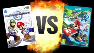 getlinkyoutube.com-Mario Kart Wii VS Mario Kart 8