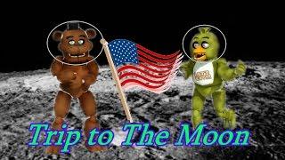 "getlinkyoutube.com-Freddy Fazbear and Friend's ""Trip to The Moon""."