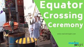 getlinkyoutube.com-Male & Female Seafarers Equator Crossing Ceremony