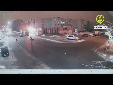 Женщина попала под колёса Вольво