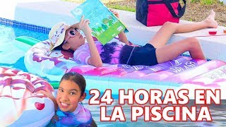 24 HORAS EN LA PISCINA  | TV ANA EMILIA