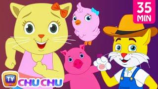 getlinkyoutube.com-Old MacDonald Had a Farm Animal Sounds Songs by Cutians | Baby Nursery Rhymes Collection | ChuChu TV