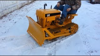 getlinkyoutube.com-Cat Mini Dozer