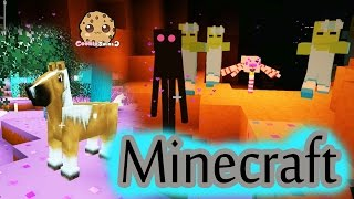 getlinkyoutube.com-Cookieswirlc Minecraft Game Let's Play - MLP Horse Rarity Quest Gaming Video Fun