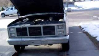 getlinkyoutube.com-Got my 1986 Suburban back!!! And she runs!! (with some starter issues)