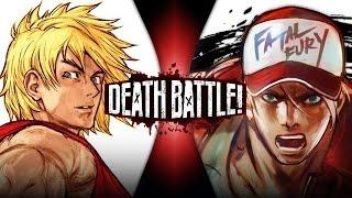 getlinkyoutube.com-Ken VS Terry | DEATH BATTLE! (Street Fighter VS King of Fighters)