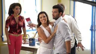 getlinkyoutube.com-Telenovela Behind-The-Scenes B-Roll - Eva Longoria NBC Comedy Series