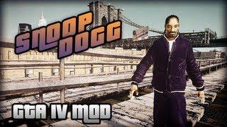 getlinkyoutube.com-GTA IV Mod - Snoop Dogg Player Model