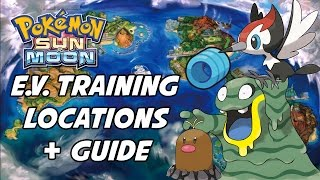 getlinkyoutube.com-Pokemon Sun and Moon EV Training Guide! Best Places to EV Train in Pokemon Sun and Moon