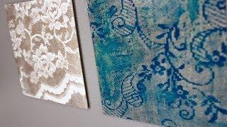 getlinkyoutube.com-DIY Easy Water Color Lace Art