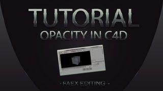getlinkyoutube.com-Cinema 4D | Adjusting The Opacity Tutorial