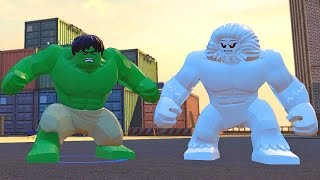 getlinkyoutube.com-Lego Marvel Vingadores #17: O Poderoso Wendigo + Personagens Secretos - Xbox One Gameplay