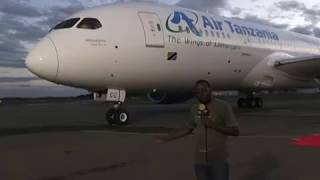 Muonekano wa NDANI wa NDEGE Mpya (Boeing 787 - 8) width=