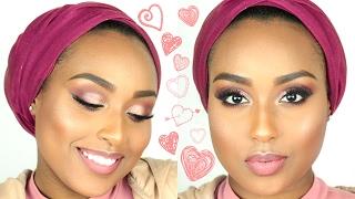 getlinkyoutube.com-FIFTY SHADES OF PINK Valentines Day Makeup Tutorial | Aysha Abdul