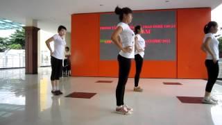 getlinkyoutube.com-Lớp hướng dẫn viên aerobic 1/3 năm 2012 - trung tâm Đất Nam - nhóm 5
