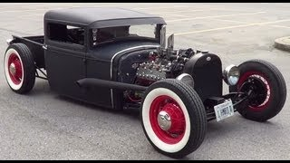 "1930 Ford Model A Pick Up Traditional Hot Rod ""1 HMRD A"""
