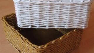 getlinkyoutube.com-How To Construct a Lovely Newspaper Basket - DIY Home Tutorial - Guidecentral