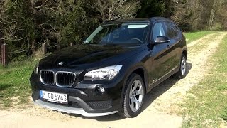getlinkyoutube.com-2015 BMW X1 sDrive18i (150 HP) Test Drive