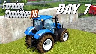 getlinkyoutube.com-Let's Play Farming Simulator 2015 - Day 7 | Silage Clampin'