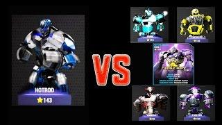 getlinkyoutube.com-Real Steel Champions FINAL HOTROD Series of fights NEW ROBOT (Живая Сталь)