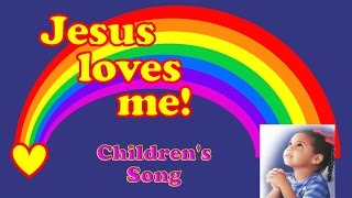 getlinkyoutube.com-Jesus Loves Me -  Children's Song (with Lyrics)
