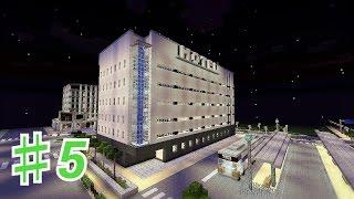 getlinkyoutube.com-【マイクラ】PEで目指すは大都市!♯5ビジネスホテル