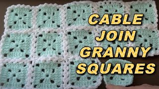 getlinkyoutube.com-WATCH How To Attach Granny Squares With Cable Stitch - EASY