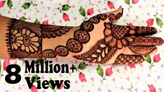 getlinkyoutube.com-Latest henna design 2015 by Jyoti Sachdeva