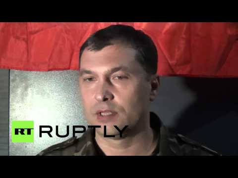 Ukraine: Lugansk occupiers deal with alleged 'hired guns'