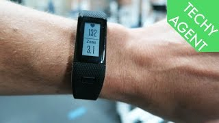 getlinkyoutube.com-Garmin Vivosmart HR+ (plus) REVIEW