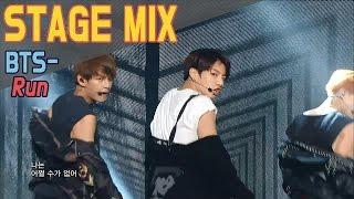 getlinkyoutube.com-BTS - RUN @Show music core Stage Mix