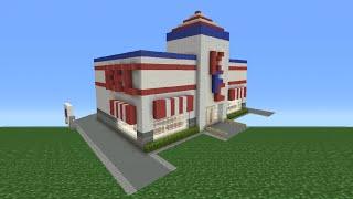 Minecraft Tutorial: How To Make A KFC Restaurant