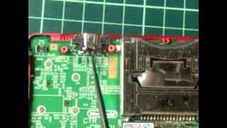 getlinkyoutube.com-3DS充電が出来ない不具合の修理
