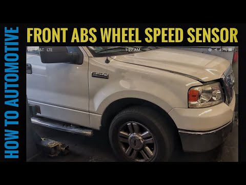 How to Replace the Front ABS Wheel Speed Sensor on a 2004-2008 Ford F-150