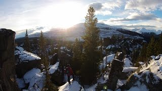 getlinkyoutube.com-Boulder Gardens - Tumbler Ridge, BC - DJI Phantom 2 Vision Plus