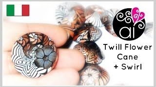 "getlinkyoutube.com-Millefiori Cane Tutorial | Polymer Clay | Murrina Fiore ""Spigato""