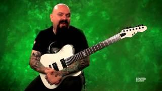 ESP Guitars: E-II TE-7 Demo with Chris Cannella width=