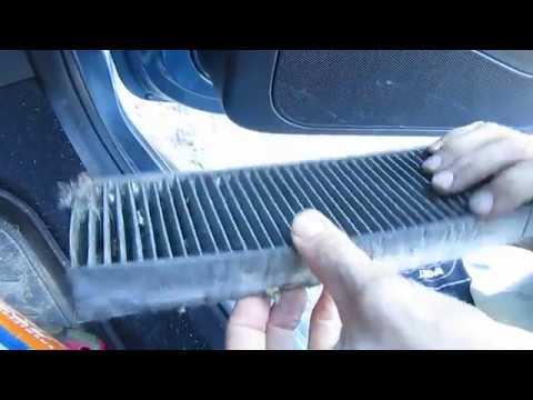 Где в Peugeot 2008 фильтр кондиционера