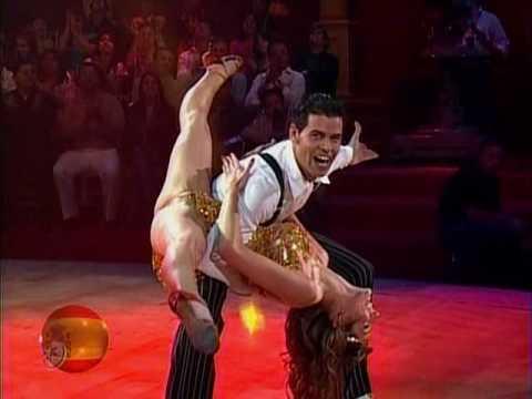 Baile inicial de España: Raquel Ortega y Kim Solé (Bailando por un Sueño 2CMB 09-05-10)