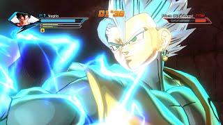 getlinkyoutube.com-Dragon Ball Xenoverse - Mastered SSJ God Vegito MOD