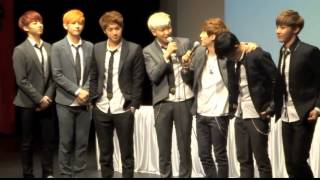 getlinkyoutube.com-VKook Couple - Only One (fansign moment)