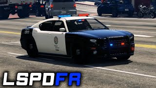 getlinkyoutube.com-LSPDFR 0.2b | E26 - Kidnapping, Park Shooting, Reckless Backup